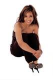 Donna convenzionale 2b di modo fotografie stock libere da diritti