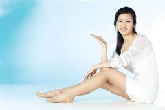 Donna coreana Fotografia Stock