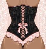 Donna in corsetto Fotografie Stock Libere da Diritti