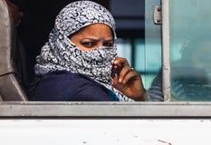 Donna da Delhi fotografia stock