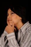 Donna Daydreaming Immagini Stock Libere da Diritti