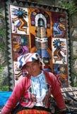 Donna del Amerindian Immagine Stock