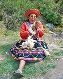 Donna del Amerindian Fotografia Stock Libera da Diritti