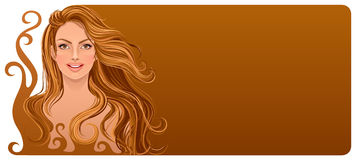 Donna del cioccolato Fotografia Stock Libera da Diritti