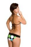 Donna del costume da bagno Immagine Stock
