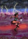 Donna del diavolo (2011) Fotografia Stock