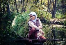 Donna del Kashmir Fotografie Stock Libere da Diritti