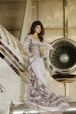 Donna del latino-americano di modo immagine stock