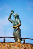Donna del mare a Lloret de Mar Mujer Marinera Fotografia Stock