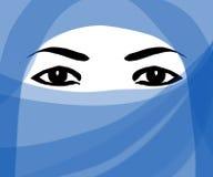 Donna del Medio-Oriente royalty illustrazione gratis