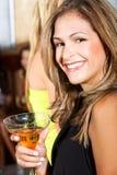 Donna del partito Fotografie Stock