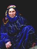 Donna del rifugiato Fotografia Stock