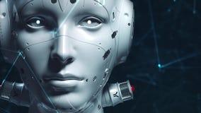 Donna del robot, donna di fantascienza archivi video