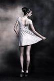 Donna delicata Fotografie Stock Libere da Diritti