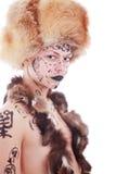 Donna dell'abete Immagini Stock