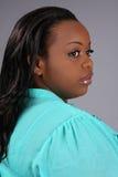 Donna dell'afroamericano Immagini Stock