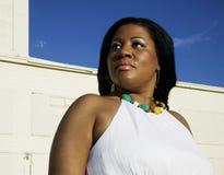 Donna dell'afroamericano fotografie stock