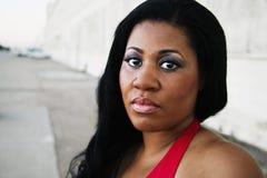 Donna dell'afroamericano fotografia stock libera da diritti