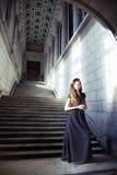 Donna dell'annata fotografia stock libera da diritti