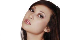 Donna dell'asiatico di Beautuful Fotografie Stock Libere da Diritti