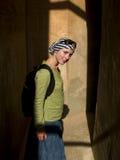 donna dell'ombra Fotografie Stock Libere da Diritti