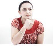 Donna dell'origine indiana Immagini Stock