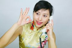 Donna dell'ufficio Fotografie Stock Libere da Diritti
