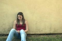 Donna della parete immagini stock libere da diritti