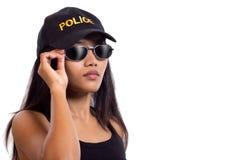 Donna della polizia Fotografie Stock Libere da Diritti