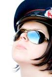Donna della polizia Immagine Stock