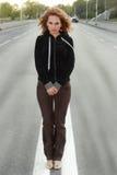 donna della strada Fotografia Stock Libera da Diritti