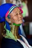 Donna della tribù di Padaung Fotografia Stock Libera da Diritti