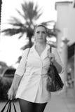 Donna di acquisto Fotografie Stock Libere da Diritti