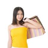 Donna di acquisto Fotografie Stock