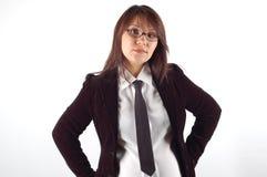 Donna di affari #12 Immagine Stock Libera da Diritti