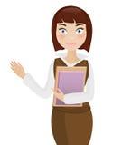 Donna di affari royalty illustrazione gratis