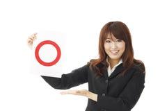 Donna di affari. Immagini Stock Libere da Diritti