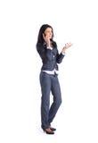 Donna di affari. fotografie stock