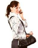 Donna di affari Fotografie Stock Libere da Diritti