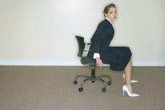 Donna di affari Fotografie Stock