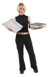 Donna di affari #45 immagini stock