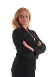 Donna di affari 5 Fotografie Stock Libere da Diritti