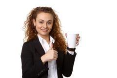 Donna di affari immagini stock libere da diritti