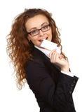 Donna di affari - 2 fotografie stock libere da diritti