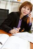 Donna di affari Immagine Stock Libera da Diritti