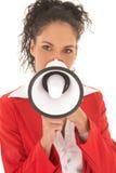 Donna di affari adulta Fotografie Stock Libere da Diritti