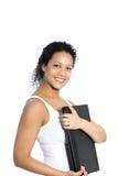 Donna di affari afroamericana Immagine Stock