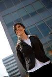 Donna di affari all'aperto Immagini Stock Libere da Diritti