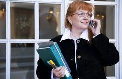 Donna di affari/allievo Fotografia Stock