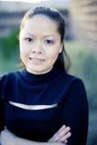 Donna di affari asiatica Immagini Stock Libere da Diritti